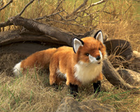 Folkmanis Tier-Handpuppe Roter Fuchs