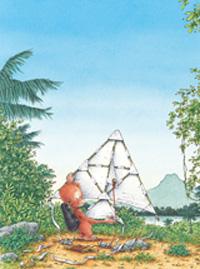 10er Set Postkarten, Kleiner Dodo mit Drachen