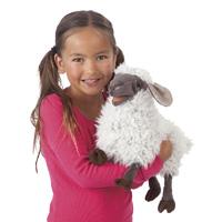 Folkmanis Tier-Handpuppe Blökendes Schaf