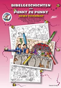 Bibelgeschichten von Punkt zu Punkt NT, Mappe inkl. PDF-Datei