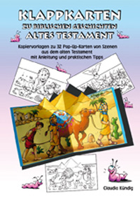 Klappkarten zu biblischen Geschichten; AT, Mappe inkl. PDF-Datei