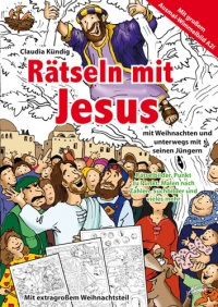 Adonia Verlag Rätseln Mit Jesus Claudia Kündig