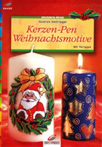 Kerzen-Pen Weihnachtsmotive