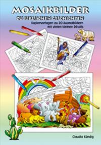 Mosaikbilder zu biblischen Geschichten, Mappe inkl. PDF-Datei