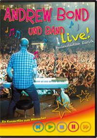 Andrew Bond und Band live im Hallenstadion