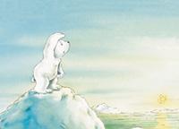 10er Set Postkarten, Kleiner Eisbär: Wo bist du?