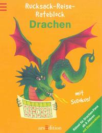 Drachen-Rucksack-Reise-Block