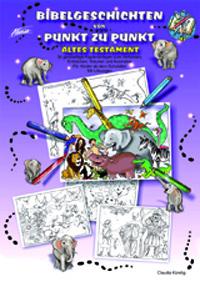 Bibelgeschichten von Punkt zu Punkt AT, Mappe inkl. PDF-Datei
