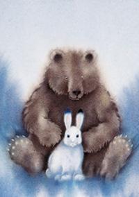 10er Set Postkarten, Hoppel und Bär
