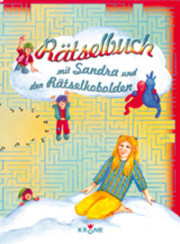 Rätselbuch mit Sandra und den Rätselkobolden