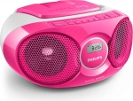 CD Player AZ215 pink