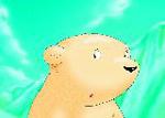 10er Set Postkarten, Kleiner Eisbär, Ich vermisse dich