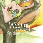 Wöörny der kleine Apfelwurm
