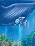 Poster, Der Regenbogenfisch stiftet Frieden
