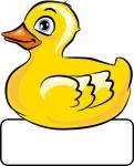 Ente - Geburtstafel