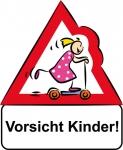 Vorsicht Kinder Mädchen