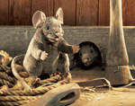 Folkmanis Tier-Handpuppe Braune Maus