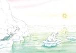 10er Set Postkarten, Kleiner Eisbär; Gute Fahrt