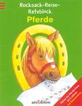 Rucksack-Reise-Rateblock Pferde