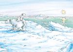 10er Set Postkarten, Kleiner Eisbär; Komm bald wieder