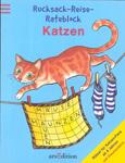 Rucksack-Reise-Rateblock: Katzen
