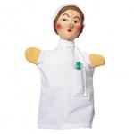 Kasperlipuppe Krankenschwester