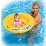Schwimminsel Baby Float