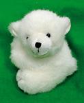 Kleiner Eisbär Plüschtier