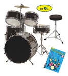Das Junior-Drum-Set