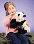 Folkmanis Tier-Handpuppe kleiner Panda