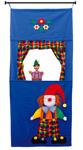 Theater Clowny mit Tür-Klemmstange