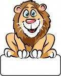 Löwe - Geburtstafel