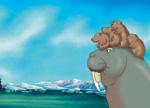 10er Set Postkarten, Kleiner Eisbär; Viel Glück