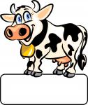 Kuh - Geburtstafel