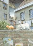 10er Set Postkarten, Kleiner Eisbär; Mauerspaziergang