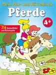 Mein Mal- und Rätselbuch Pferde