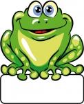 Frosch - Geburtstafel