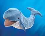 Folkmanis Tier-Handpuppe Wal