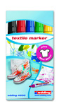 T-Shirtmarker-Set, 5 Farben