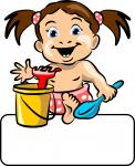 Baby-Girl Toys - Geburtstafel