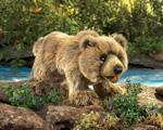 Folkmanis Tier-Handpuppe Grizzly Bär